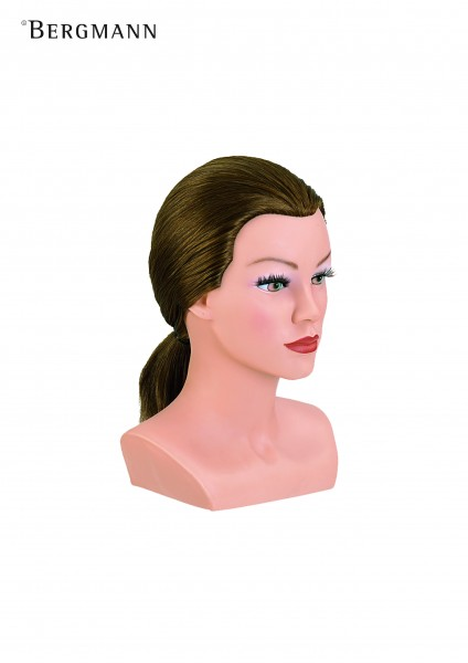 Übungskopf Lady Short, 25cm mittelblond