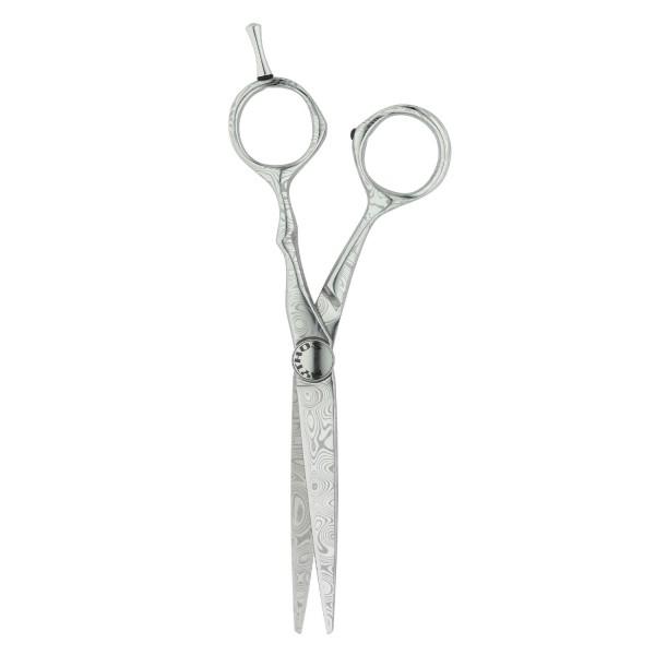 "Tondeo Scissors - Mythos Damast Offset Scissors 6.0"""