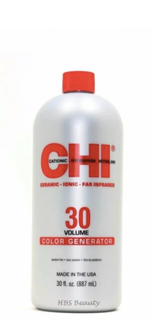 CHI 30 Volume Color Generator 887 ml, 9%