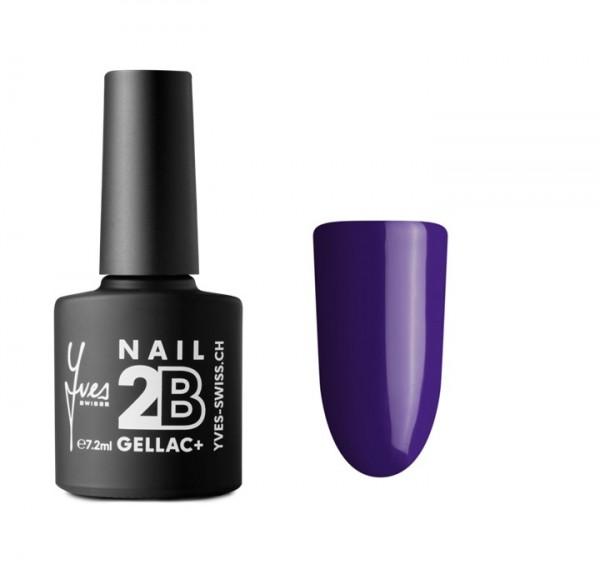 2B Gellac+ No. 022 dunkel violett 7.2ml