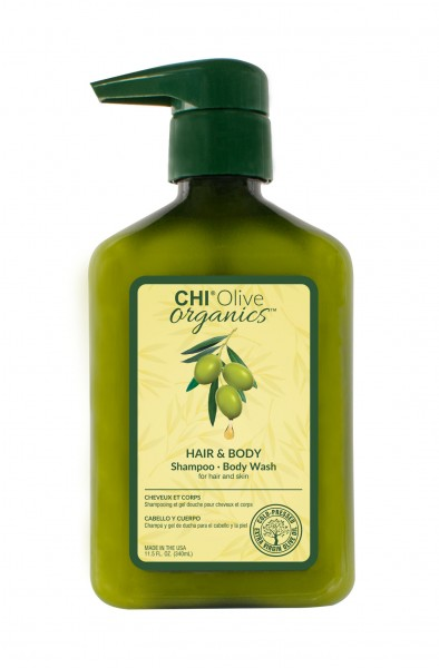 CHI Olive Organic Hair & Body Shampoo