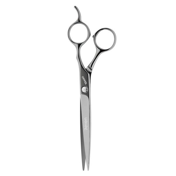 "Tondeo Scissors - Seven Black Offset Scissors 7.0"""