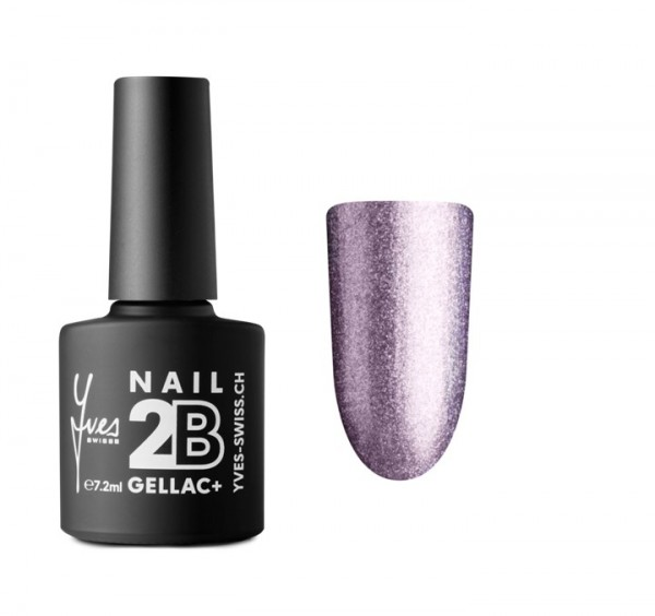 2B Gellac+ No. 055 violett silver glitter 7.2ml