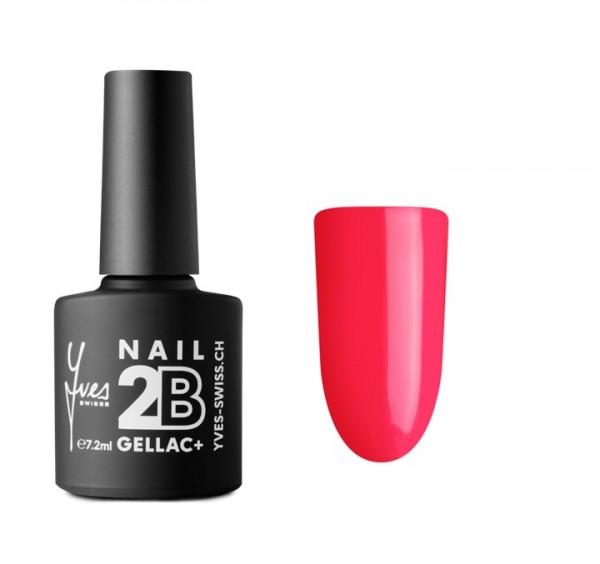 2B Gellac+ No. 019 neon pink 7.2ml
