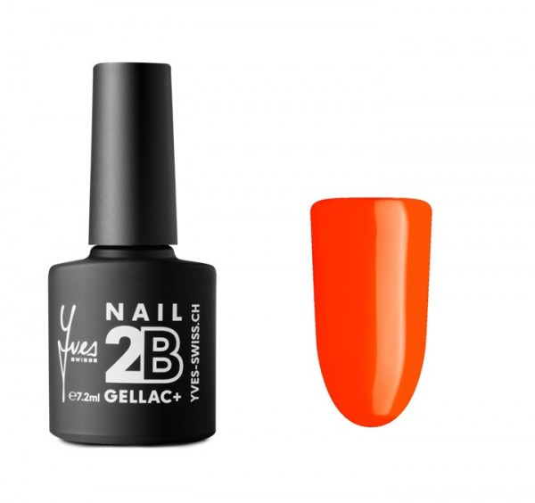 2B Gellac+ No. 008 neon orange 7.2ml