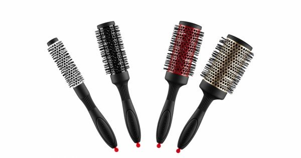 Denman brosses rondes set (4) thermoceramic