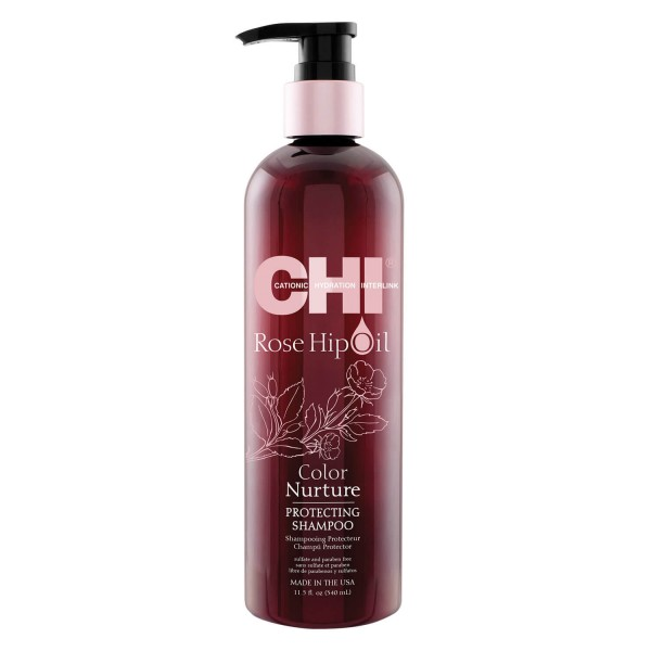 CHI Rose Hip Oil - Protecting Shampoo