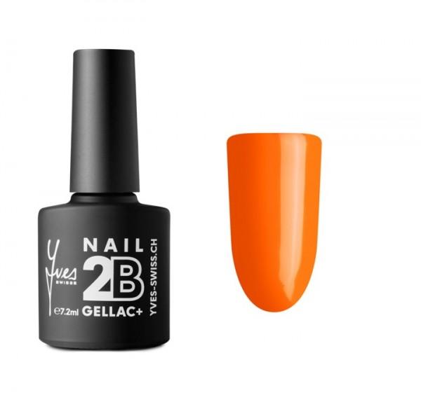 2B Gellac+ No. 040 neon orange 7.2 ml