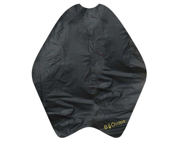Einmalumhänge BIOcape schwarz (50 Stk.)