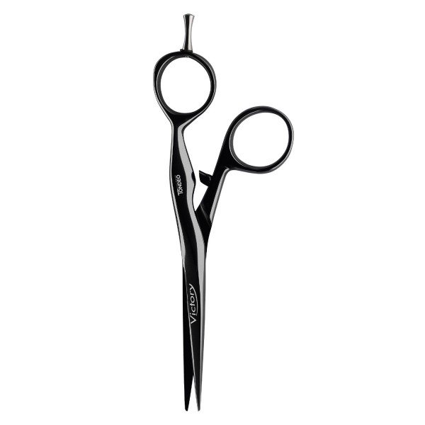 Tondeo Scissors - Victory Black Offset Scissors 5.5""